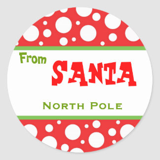 Christmas Santa Sticker