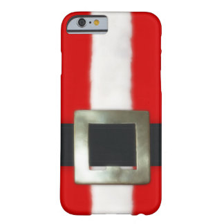 Christmas Santa Suit Barely There iPhone 6 Case