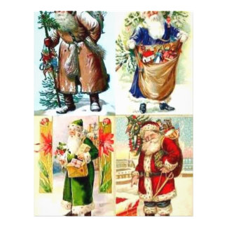 Christmas Santas Personalized Flyer