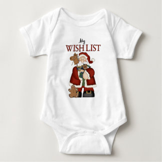 Christmas Santa's Toys My Wish List T-Shirt