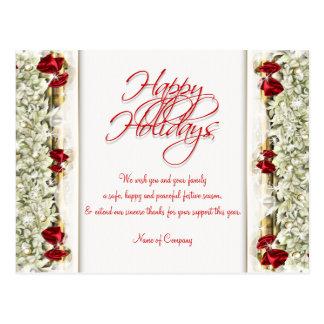 Christmas sayings Xmas Corporate thanks Post Cards