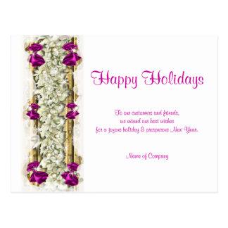 Christmas sayings Xmas Corporate thanks Postcards
