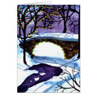 Christmas Scene Christmas Card