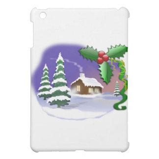 Christmas Scene iPad Mini Case