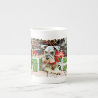 Christmas - Schnauzer - Heinz Porcelain Mug