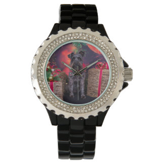 Christmas - Schnauzer - Sophie Watch
