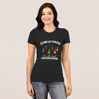 Christmas Scrapbooking Shirt