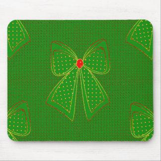 Christmas_Season_Bow (c) _Unisex_ Mouse Pad