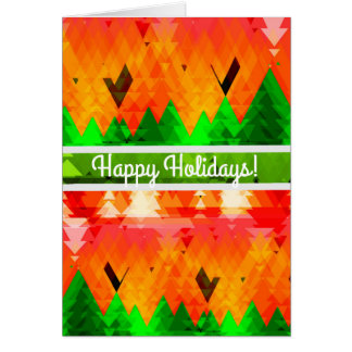 Christmas Season Themed Greeting Card
