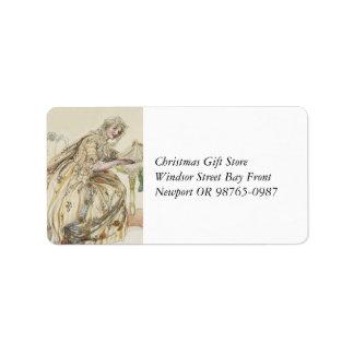 Christmas Secret Label