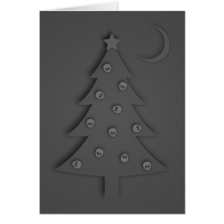 Christmas Shadow Tree Card