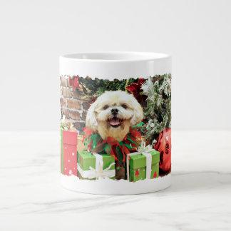 Christmas - Shih Tzu - Cubby Extra Large Mugs