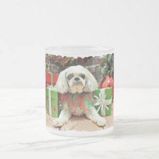 Christmas - Shih Tzu - Kobe Coffee Mug