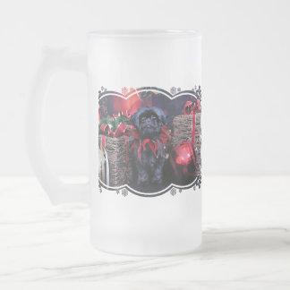 Christmas - Shih Tzu - Lily Frosted Beer Mug
