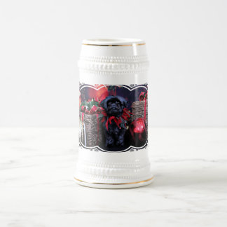 Christmas - Shih Tzu - Lily Coffee Mugs