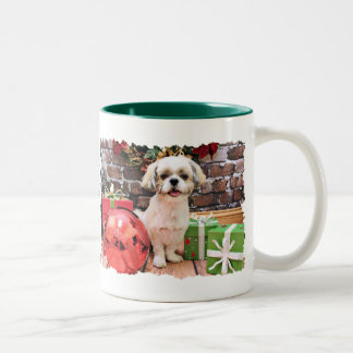 Christmas - Shih Tzu - Marley Coffee Mugs