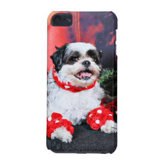Christmas - Shih Tzu - Mishka iPod Touch (5th Generation) Case