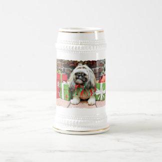 Christmas - Shih Tzu - Opal Coffee Mug