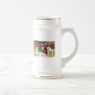 Christmas - Shih Tzu - Willie Coffee Mugs