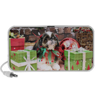 Christmas - Shih Tzu - Willie Speaker