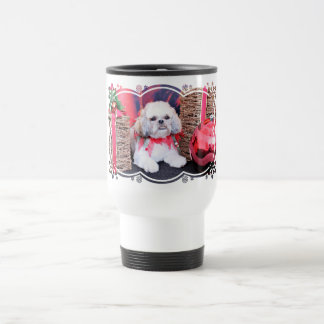Christmas - Shih Tzu - Wrigley Coffee Mug