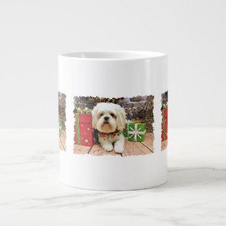 Christmas - Shih Tzu X - Walter Extra Large Mugs