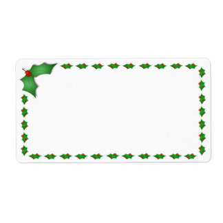 Christmas Shipping Labels