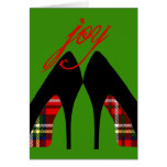 Christmas Shoes Card