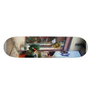 Christmas Shop Custom Skateboard