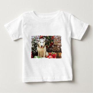 Christmas - Siberian Husky - Teagarden Portraits T-shirt