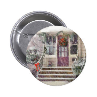 Christmas - Silent Day Pinback Buttons