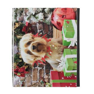 Christmas - Silky Terrier - Loki iPad Case