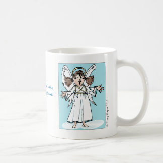 Christmas Singing Angel coffee mug