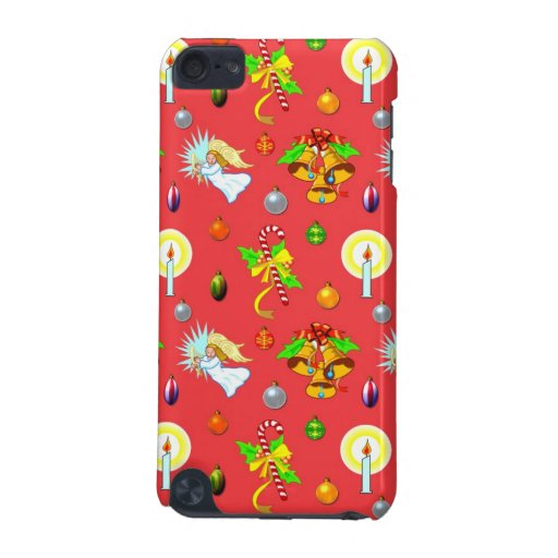 Christmas - Singing Angels & Golden Bells iPod Touch 5G Cover