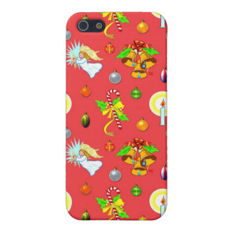 Christmas – Singing Angels & Golden Bells Case For The iPhone 5