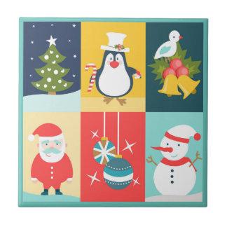 Christmas Six Tile