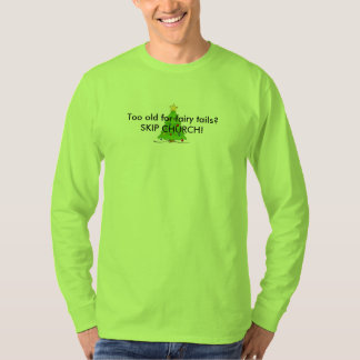 Christmas Skip Church T-Shirt