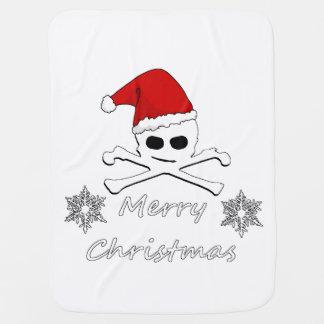 Christmas Skull Pramblankets