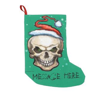 Christmas Skull Small Christmas Stocking