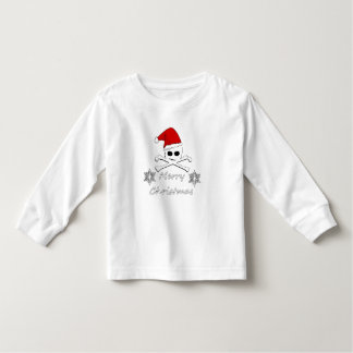 Christmas Skull Toddler T-Shirt