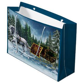 Christmas Sleigh Large Gift Bag