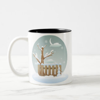 Christmas Snow Coffee Cup
