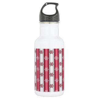 Christmas Snow Flakes 532 Ml Water Bottle