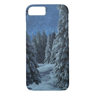Christmas Snow Landscape iPhone 8/7 Case