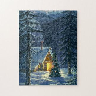 Christmas Snow Landscape Puzzle
