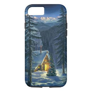 Christmas Snow Landscape Tough iPhone 7 Case
