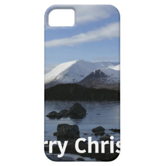Christmas snow on Black Mount , Scotland Barely There iPhone 5 Case