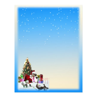 Christmas Snow  Two Sided 21.5 Cm X 28 Cm Flyer