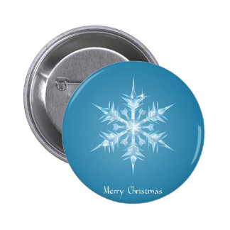 Christmas snowflake greeting pins