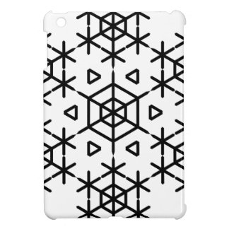 Christmas snowflake iPad mini case